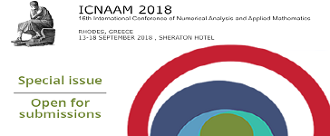Call for papers for 4open special issue: ICNAAM 2018