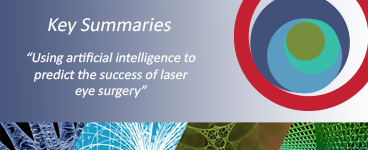 """""""Using artificial intelligence to predict the success of laser eye surgery"""" – new 'Key Summary' from 4open"""