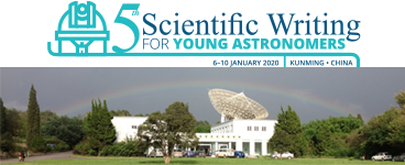 EDP Sciences and Astronomy & Astrophysics sponsor the 5th Scientific Writing for Young Astronomers