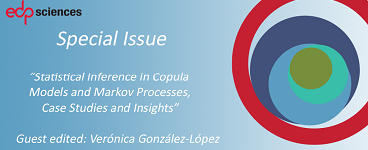 """Statistical Inference in Copula Models and Markov Processes, Case Studies and Insights"" – new Maths special issue published in 4open"