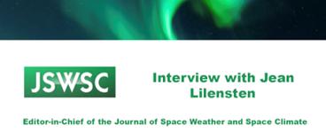 Interview with Jean Lilensten (JSWSC)