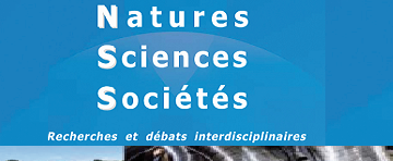 Natures Sciences Sociétés – open access from January 2020