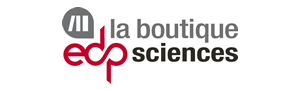 La boutique EDP Sciences