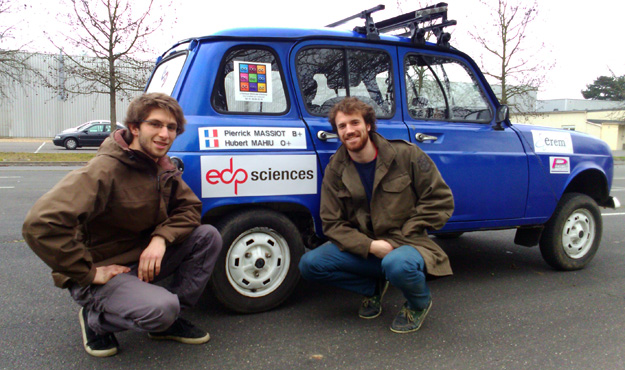 EDP Sciences partner of the Raid 4L Trophy