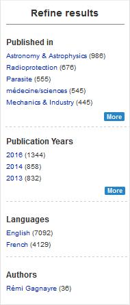 edp sciences publishing platform technical innovation